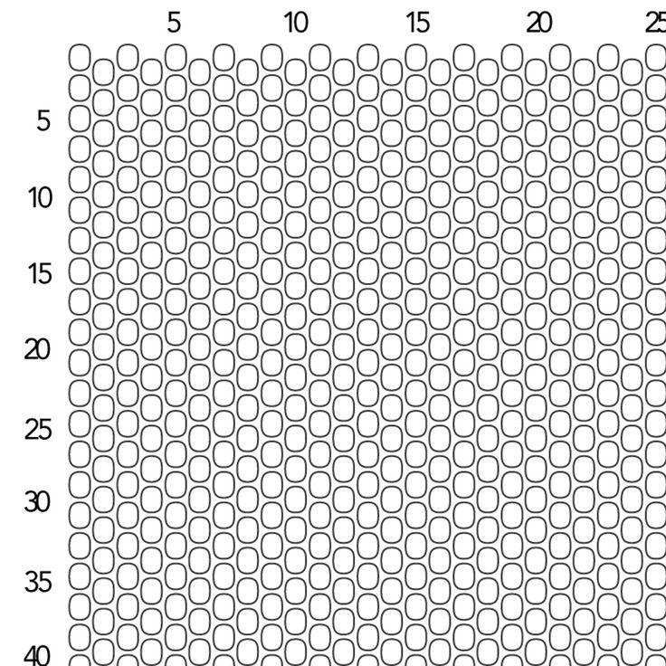 image seed bead peyote graph paper printable