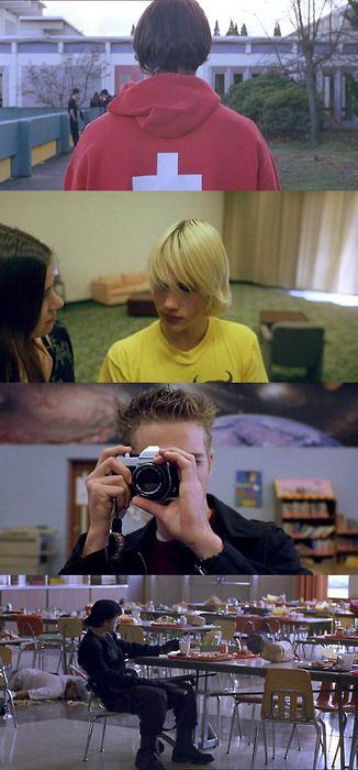Elephant, 2003 (dir. Gus Van Sant)............................. Une des grandes questions posées par le film : regarder permet-il de comprendre ?