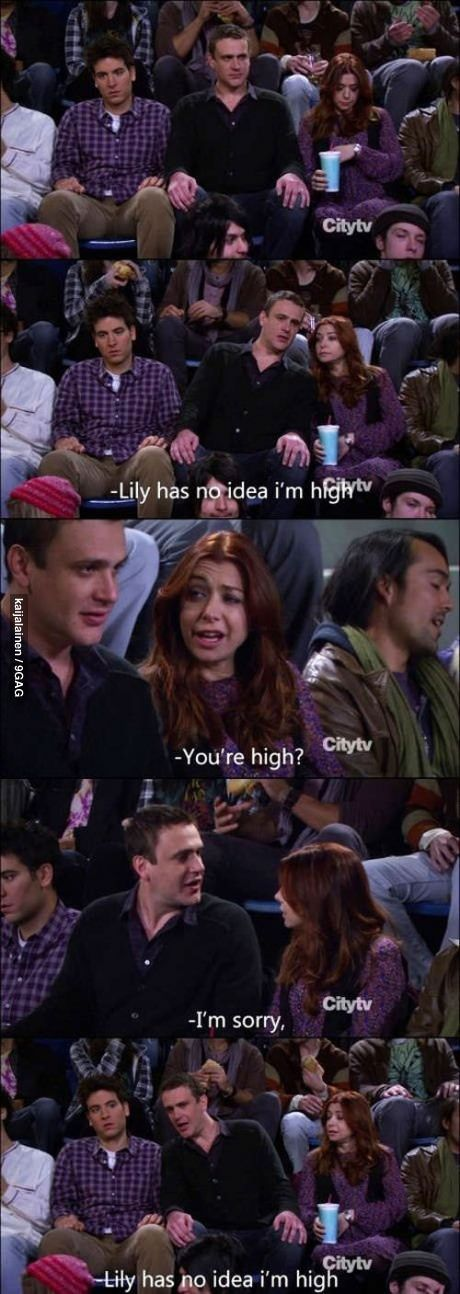 How I Met Your Mother,One of our favorite shows to watch.