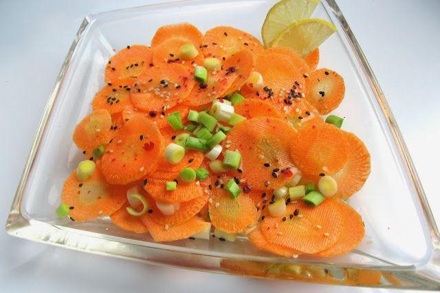 relaxotour: Szezámmagos sárgarépa-saláta