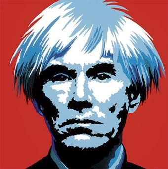 Andy Warhol Paintings of Himself | Andy Warhol Self-Portrait