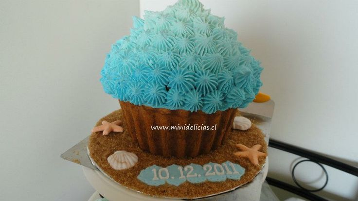 Cupcake Gigante Boda Playera.