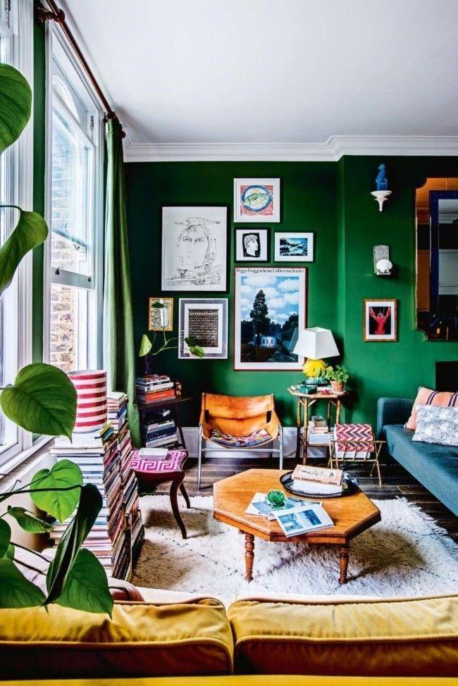 Die aufstrebenden Londoner Designstars Luke Edward Hall und Duncan Campbell teilen sich