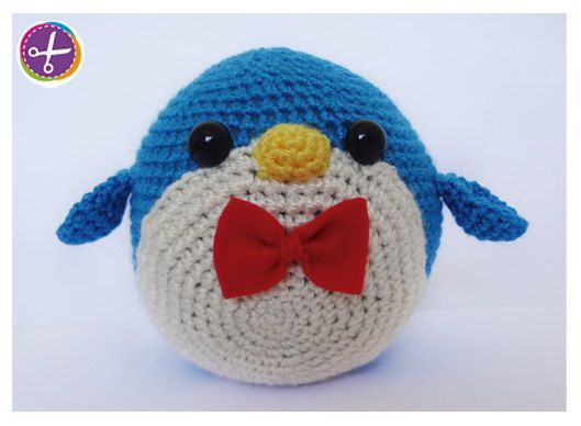 Penguin Amigurumi Doll