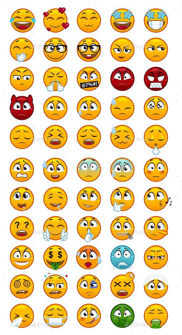 Download Different Emoji Set For Free Emoji Set Valentine Doodle Emoji