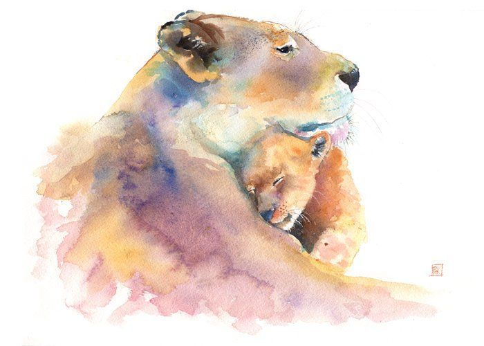 Pin On Wildlife Watercolor Paintings By Paige Keiser
