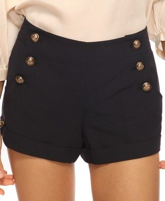 Forever 21 Cuffed Sailor Shorts.