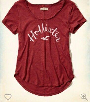 Red Hollister Shirt