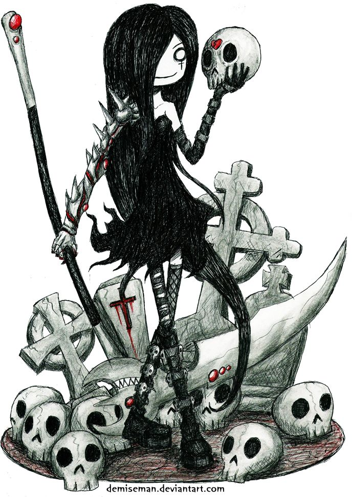 The Lady Dead Whisper by DemiseMAN.deviantart.com on @DeviantArt
