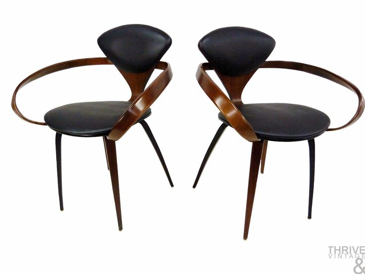 A Tease....A Few Pieces, Coming Soon | Norman Cherner for Plycraft Mid-Century Modern Pretzel Dining Chairs, Dyrlund Danish Modern Captains Bar, American Martinsville Vintage Chinoiserie Dresser