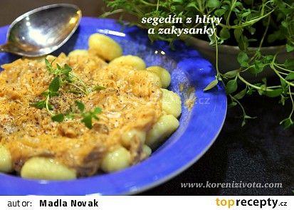Segedín z hlívy a zakysanky recept - TopRecepty.cz