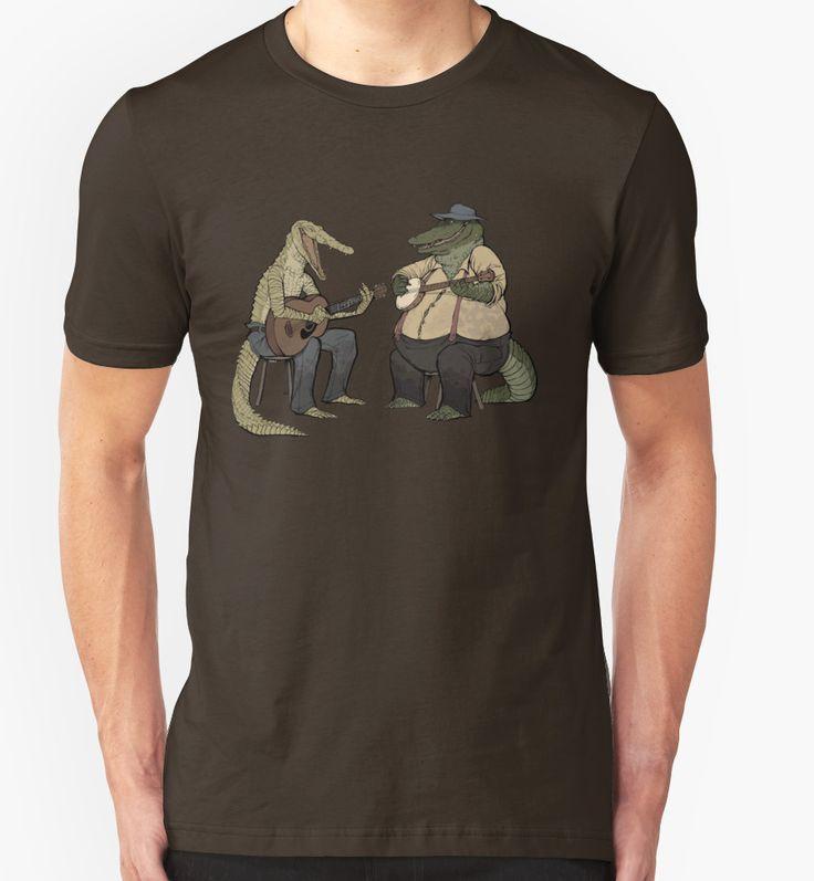 """Dueling Crocodylidae"" T-Shirts & Hoodies by Rowan Woodcock | Redbubble"