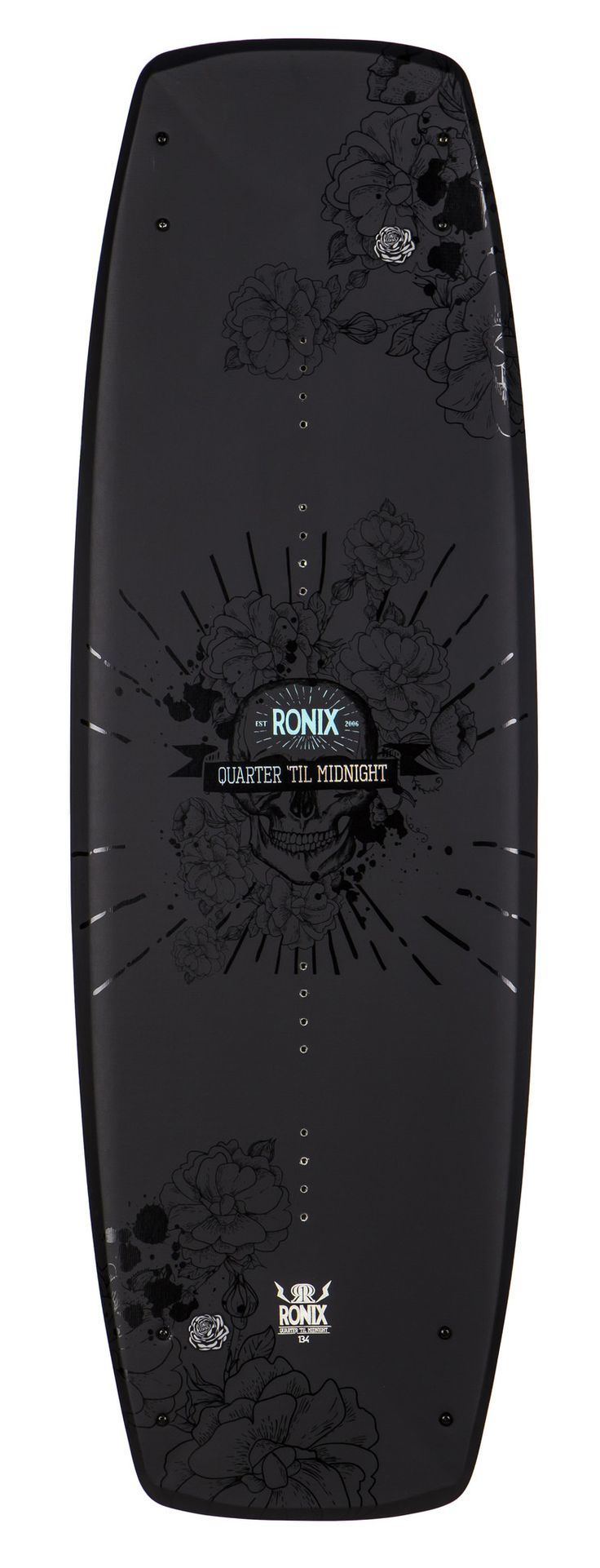 Ronix QUARTER 'TIL MIDNIGHT Women's Wakeboard This brand spanking new, hot off the press, versatile Quarter 'Til Midnight can be ridden with no stereotypes. Finally a women's board that adapts to the