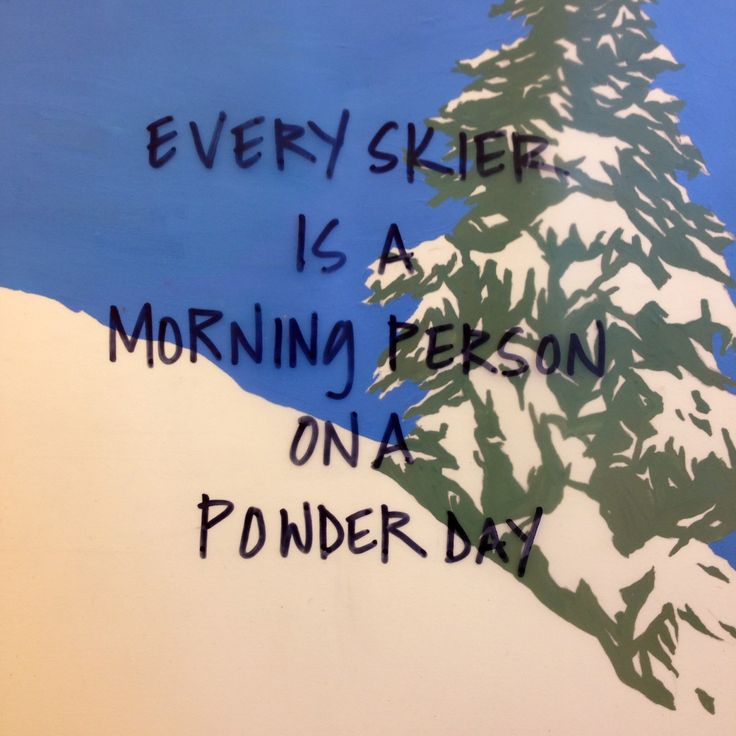 Too true! Choose Skibug for a great value luxury catered ski holiday in the French Alps www.skibug.co.uk