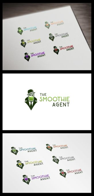 Brand logo design for healthy smoothie company by TKO Designs