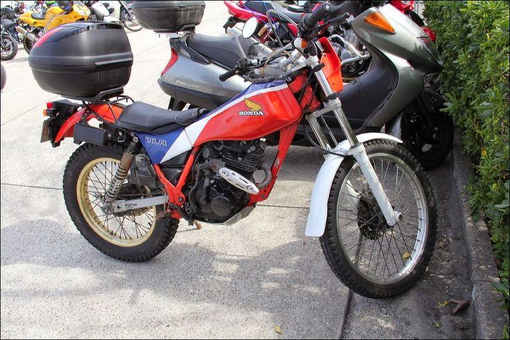 2014 Street Motorcycle In Japan Honda Tlr200 Trial Bike
