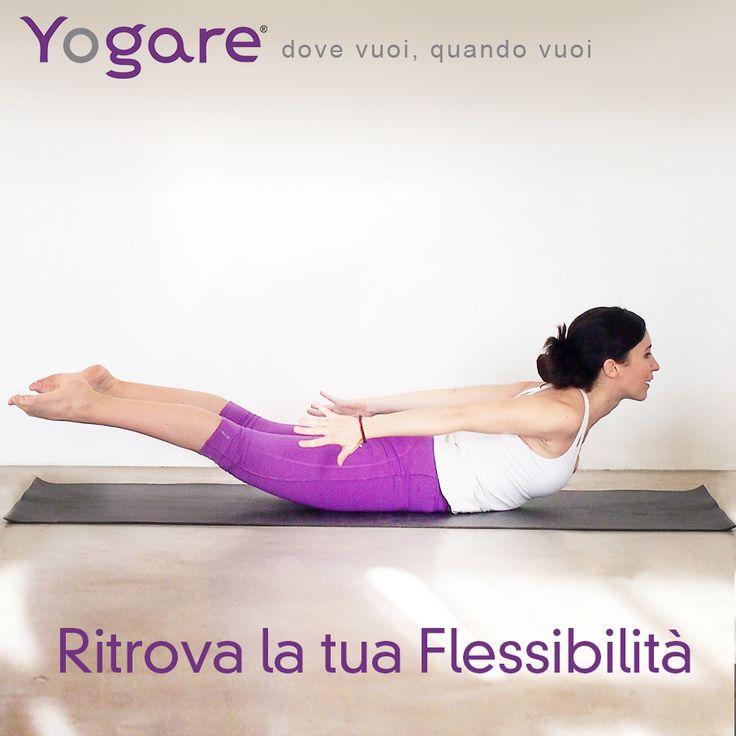 Ritrova la tua naturale Flessibilità con Sara Bigatti su #Yogare #Yoga  #Vinyasa  http://yogare.eu/video-175