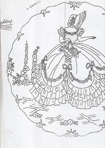 southern belle coloring pages - 228 best images about embroidery southern belle 39 s on