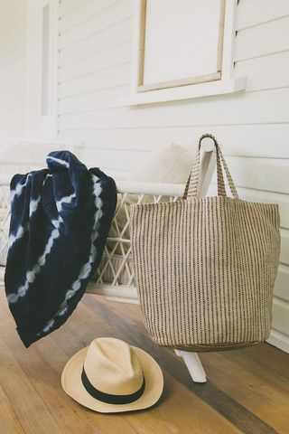 Jute Tote | Beach Bag |The Dharma Door | Salt Living #faritrade #dharmadoor & 48 best THE DHARMA DOOR images on Pinterest | Basket storage Basket ...