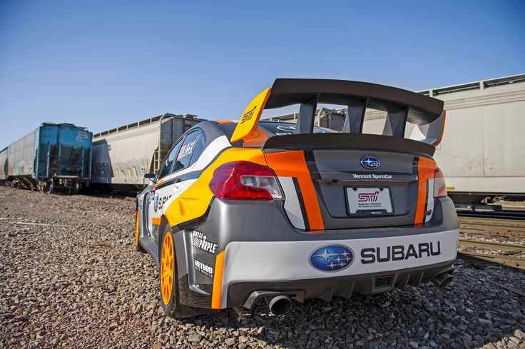 Subaru's new Rallycross fighter for 2015, the VT15x!