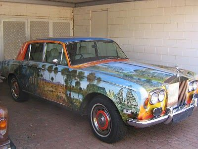 46 best wicked paint images on pinterest airbrush art for Rolls royce motor cars dallas