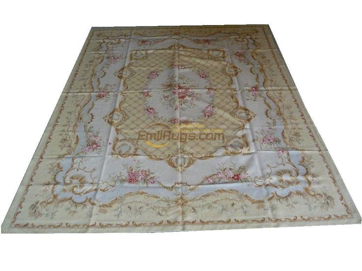 Find More Carpet Information About Pure Hand Woven Wool Carpet French  Aubusson Rugs 244CMX305CM 8 X