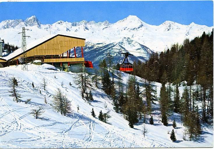 Aosta Valley - Pila, Italian Alps. skiing