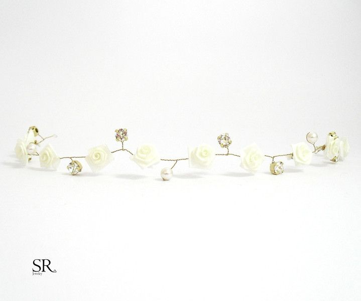 Brautschmuck set blüten  102 besten Brautschmuck Hochzeit Bilder auf Pinterest | Perlen ...