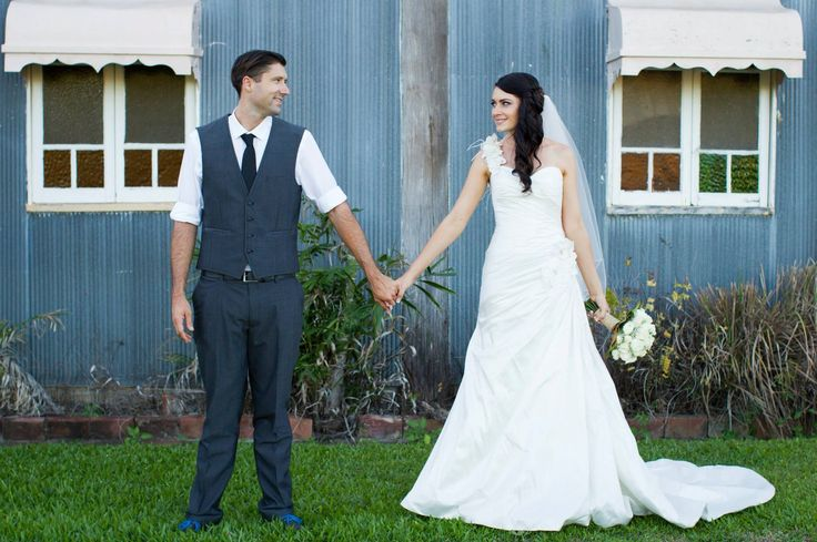 Just the two of us - Nathan and Kat's vintage wedding in Townsville