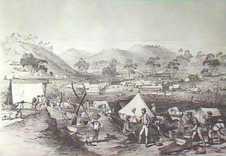Mt. Alexander Gold Diggings