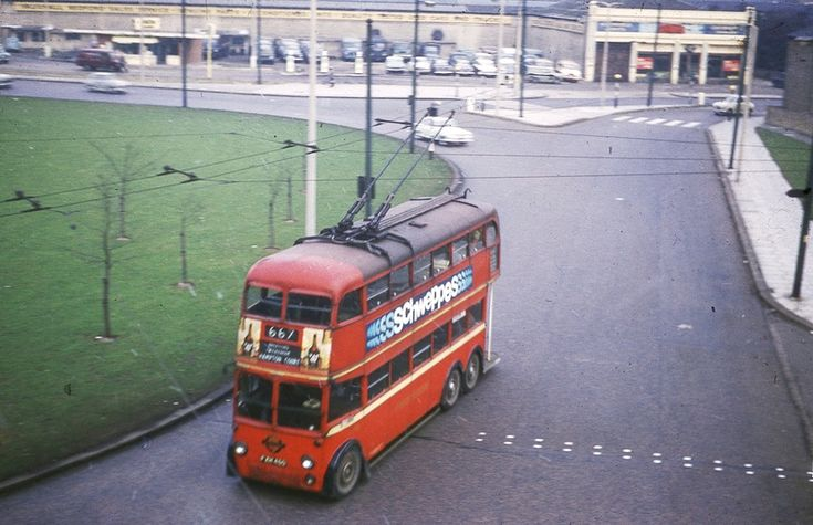 The Chiswick Roundabout April 1962