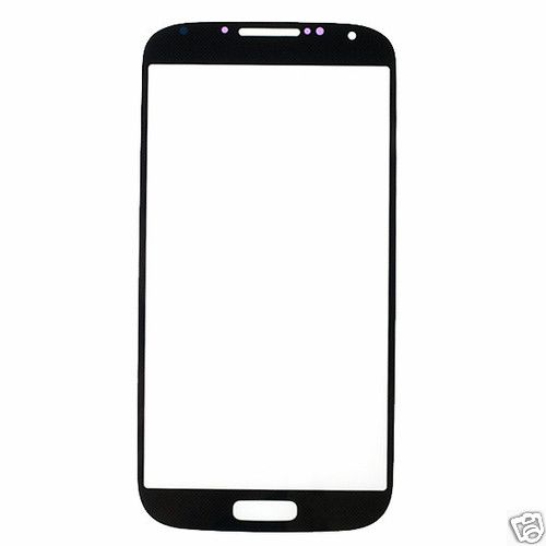 Replacement Parts Touch Panel Glass for Samsung Galaxy S4 i9500(Black)
