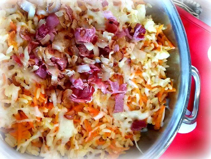 Simi´s Sattmacher- Rezepte und mehr.....: Karottenreis mit Röstzwiebeln