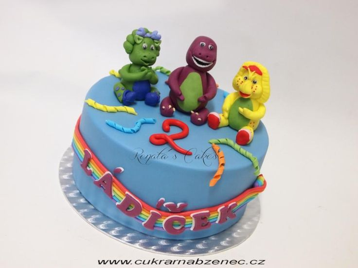 Barney and friens cake - Cake by Renata