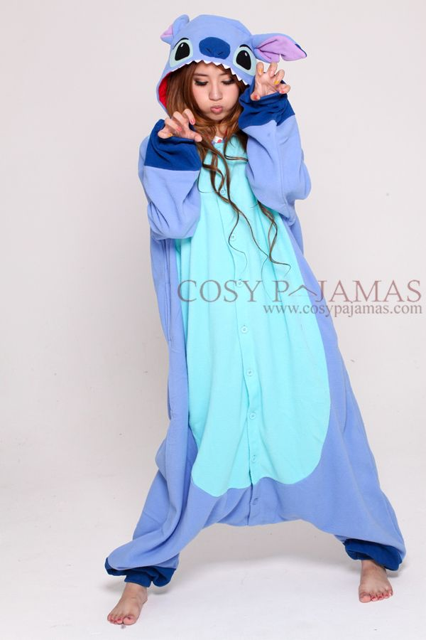 8aa21816b Disney Stitch Adult Onesie Kigurumi | Wish List in 2019 | Onesie pajamas,  Disney onesies, Pajamas