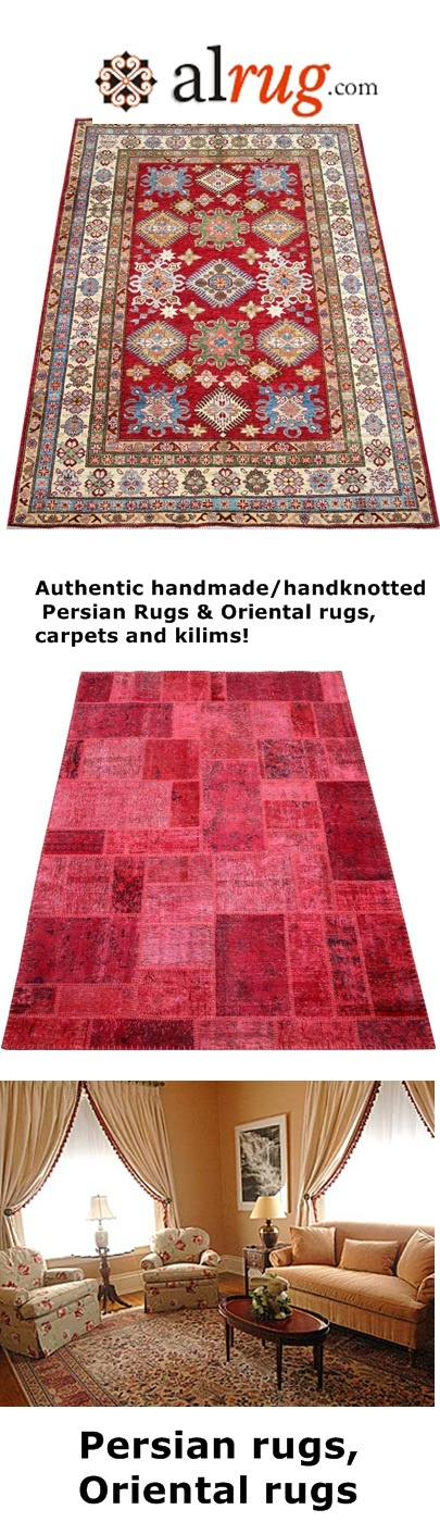 Handmade Persian rugs and Oriental rugs Collection http://www.alrug.com
