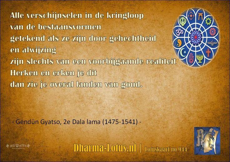 Wijsheid 2e Dalai Lama