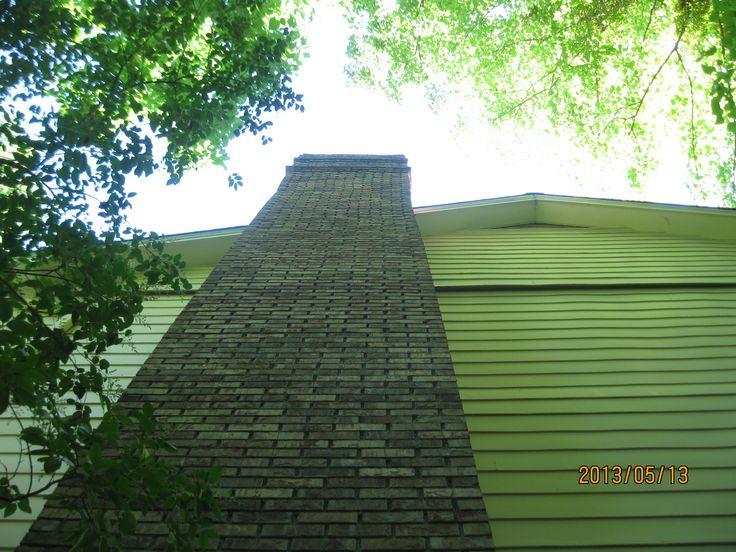 Leaning Chimney Repair in Birmingham, AL Home structure