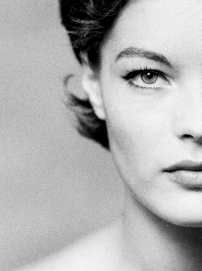 Romy Schneider photographed by F. C. Gundlach, 1961