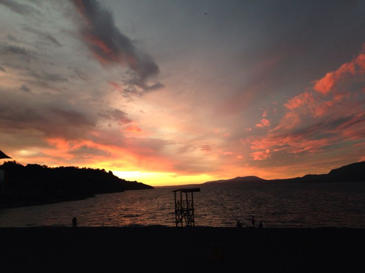 Atardecer en Lago Villarica