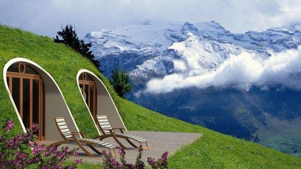 Dit prefab hobbit huis kun je neerzetten waar je maar wilt