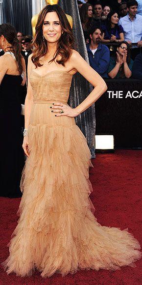 Love the boho-chic look Kristin Wiig had at the Oscars!Hair Colors, Kristen Wiig, Redcarpet, Oscars 2012, Red Carpets, Academy Awards, The Dresses, Oscars Dresses, Kristenwiig