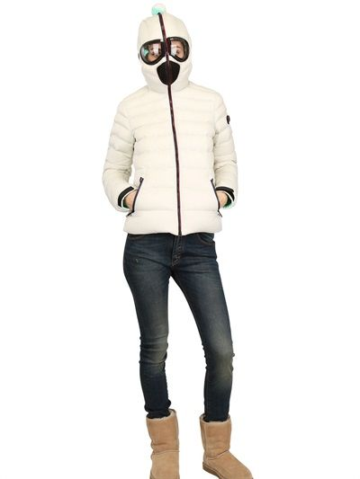 AI RIDERS ON THE STORM - TOTAL ZIP UP NYLON DOWN JACKET - LUISAVIAROMA - LUXURY SHOPPING WORLDWIDE SHIPPING - FLORENCE