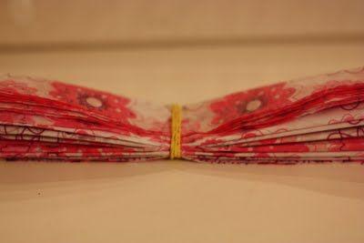 How to make tissue paper pom poms for Adeline's birthday