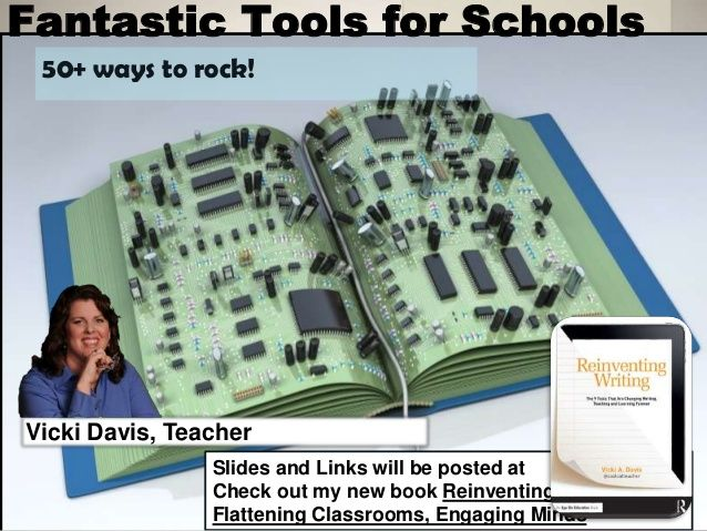 50+ of my favorite education technology tools by Vicki Davis via slideshare