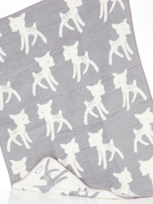 Kids Blanket Bambi Ecru ♥ Fabulous Goose