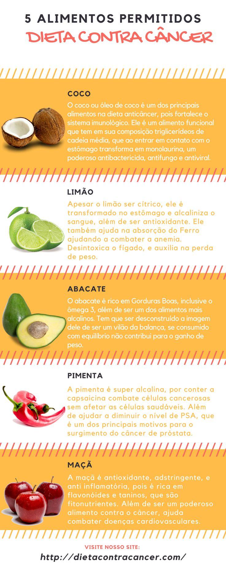 5 Alimentos Alcalinos que previnem e combatem o câncer. Esses alimentos fazem parte da dieta anticâncer.  Saiba Mais em Nosso Site: >>> http://dietacontracancer.com/