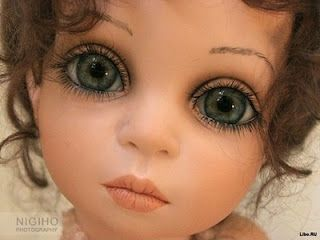 глаза куклы рисованные мастер класс