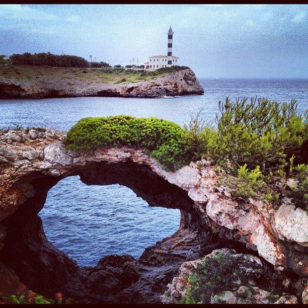 Faro De Portocolom in Felanitx, Islas Baleares