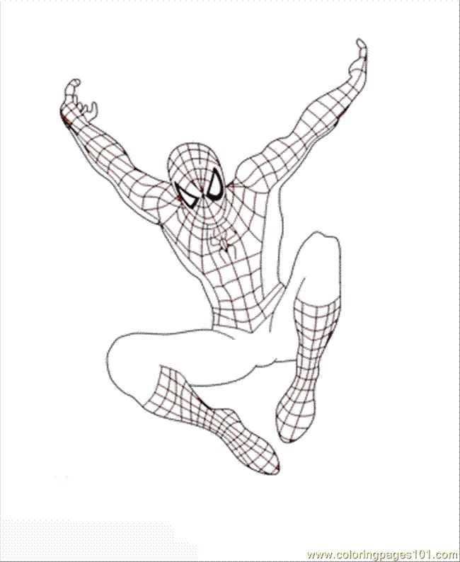 Spiderman coloring page Superheroes Party Pinterest Spiderman - fresh spiderman coloring pages for toddlers